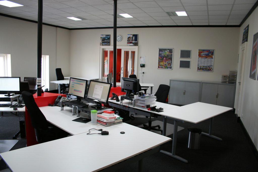 Batech impressie kantoorruimte